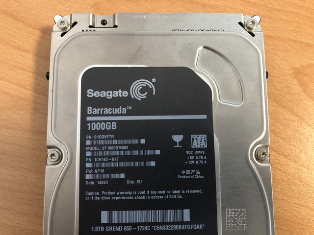 HD Seagate Barracuda